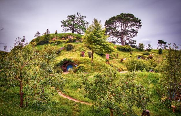 Hobbiton Village 4, New Zeeland