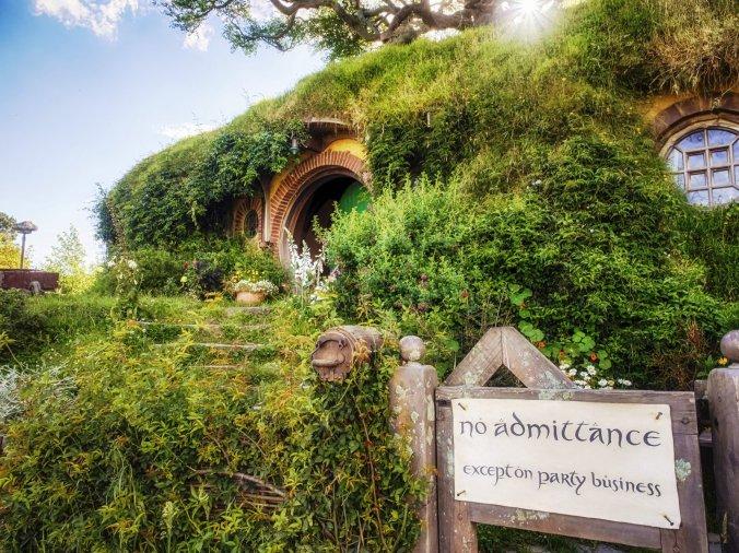 Hobbiton Village 5, New Zeeland