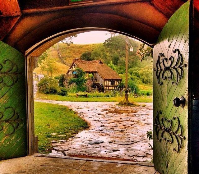 the mill in hobbiton village