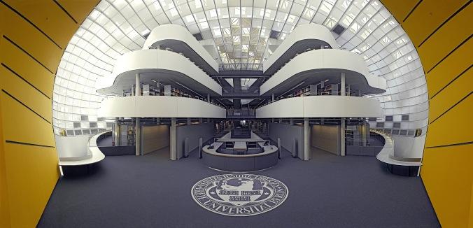 FU Bibliotheksneubau Berlin